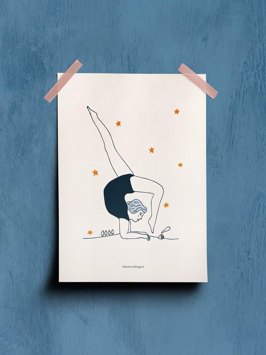 Contortionist circus artist wallpaper