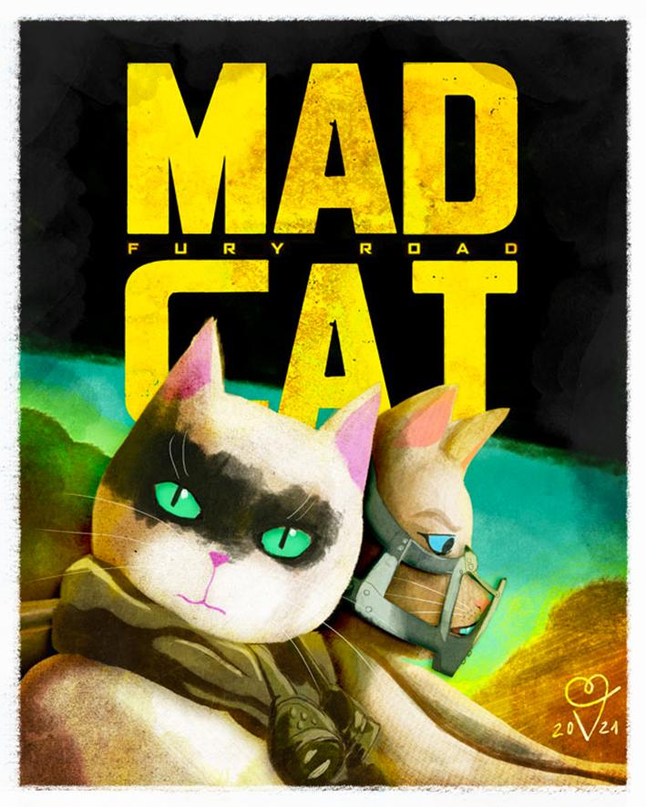 Mad Cat movie poster