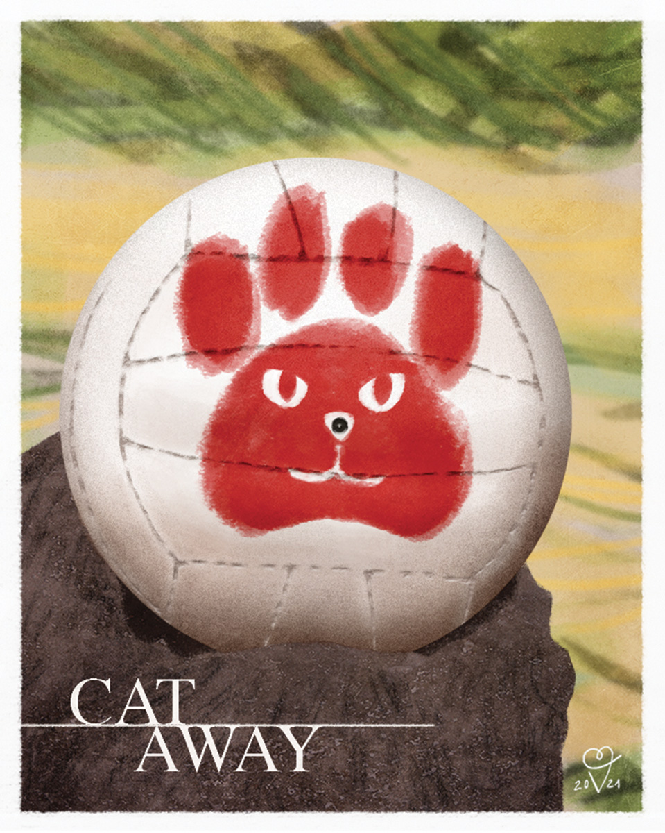 Cat away